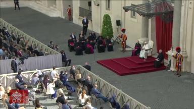 Catequese do Papa volta a ter a participação presencial dos fiéis