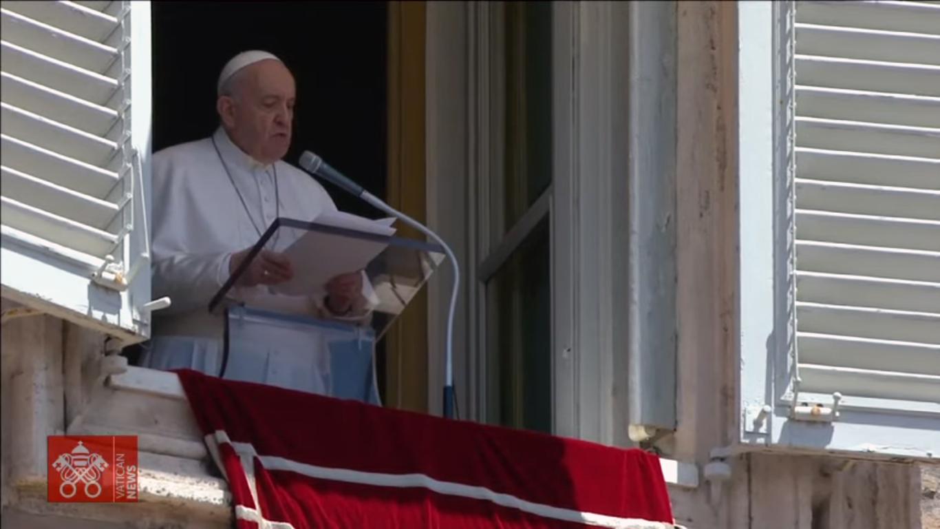 Angelus Papa 27 06 2021 Angelus: a maior doença da vida é a falta de amor, afirma Francisco