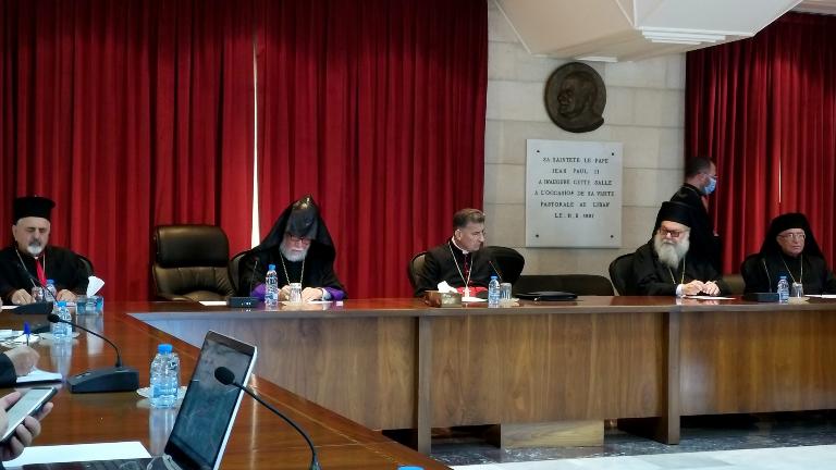 Líbano Líderes das Igrejas no Líbano se reúnem em preparação para encontro com o Papa