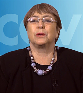 Michelle Bachelet Youtube pequena ONU: grave abuso de direitos na região de Tigré, na Etiópia