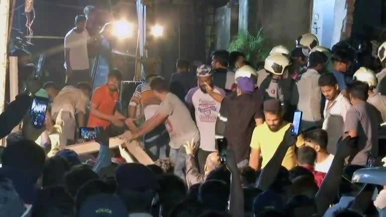 Predio India Pelo menos 11 mortos e oito ficam feridos em queda de prédio em Mumbai