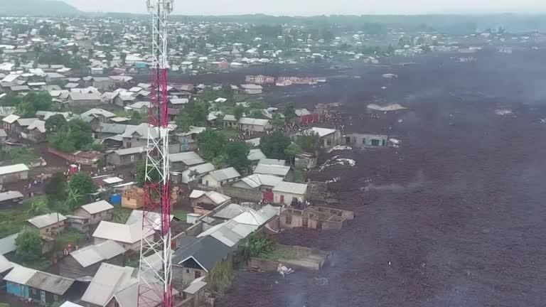 Vulcao Nyiragongo reproducao reuters Vulcão Nyiragongo: Igreja mobiliza ajuda para população afetada