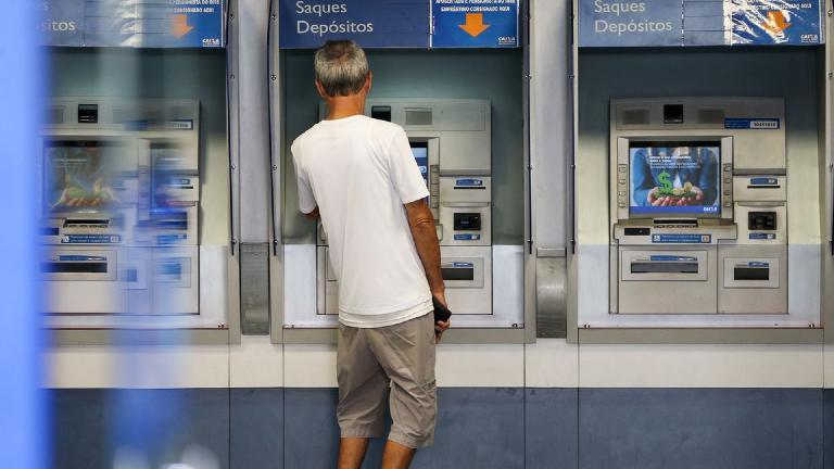 banco bancos caixa eletronico © Marcelo Camargo Agência Brasil No Brasil, agências bancárias não abrem nesta quinta-feira