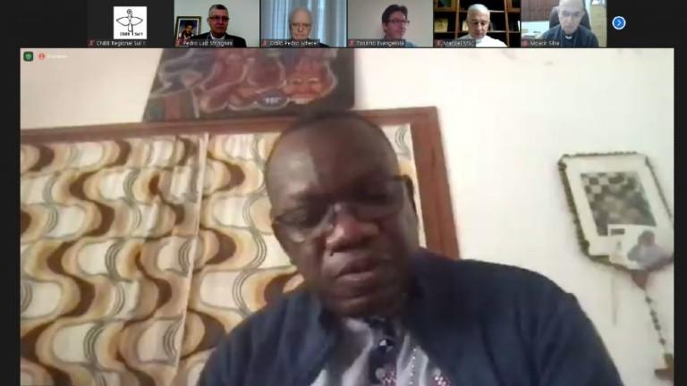 bispo africano colaboracao missionaria regional sul 1 reproducao Bispo africano agradece colaboração missionária do Regional Sul 1