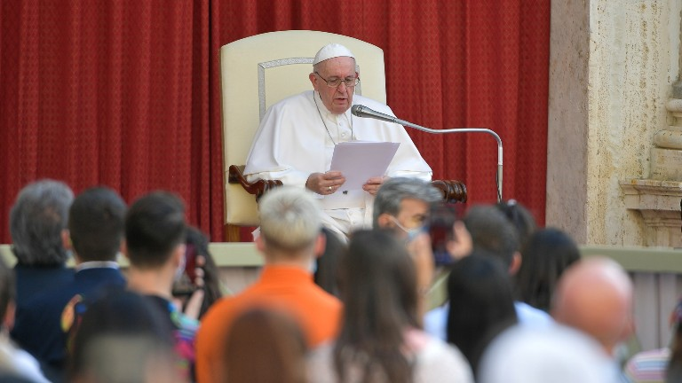 papa catequeses sobre oracao vatican media via reuters Papa conclui catequeses sobre oração: a oração de Jesus é modelo