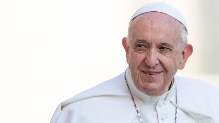 papa francisco sorrindo praça são pedro daniel ibanez CNA Promover uma sociedade mais humana e fraterna, pede Papa ao Celam