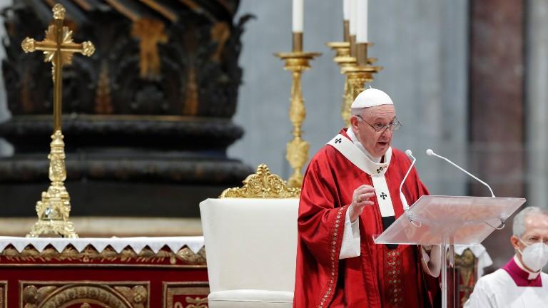 papa na solenidade dos santos pedro e paulo