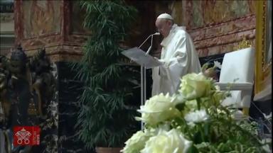 Papa Francisco celebra missa de Corpus Christi na Basílica de São Pedro