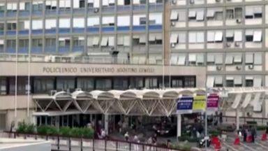 No Hospital Gemelli, em Roma, Papa Francisco segue em recuperação