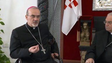 Para Patriarca Latino, peregrinação é uma nova forma de evangelização