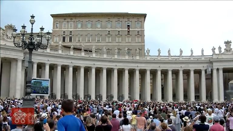 angelus domingo 25 07 reproducao vnews Papa reza pela China e abençoa os Jogos Olímpicos