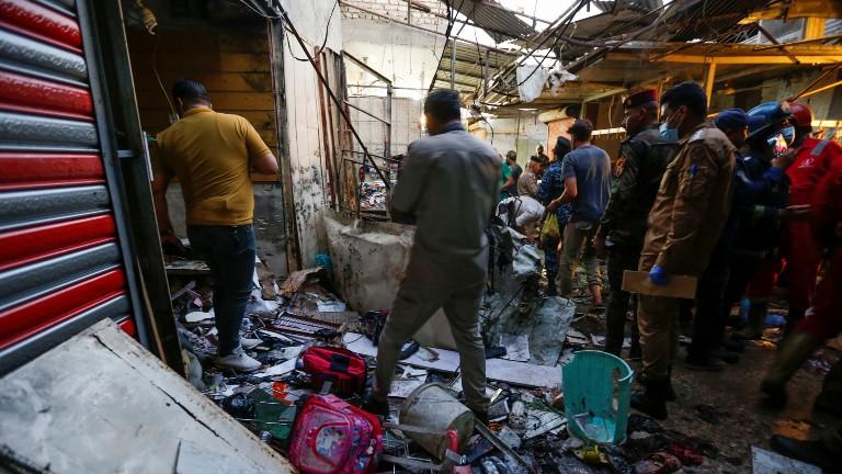 atentado mercado popular bagda REUTERS Wissam Al Okaili Isis assume autoria de atentado que matou ao menos 35 em Bagdá