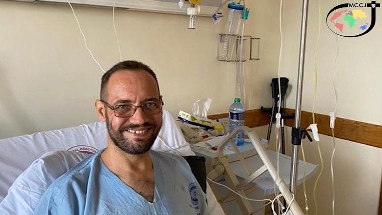 padre christian carlassare reproducao youtube combonianos Há esperança para o Sudão do Sul, diz padre Carlassare