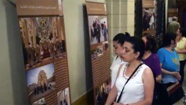 Em Damasco, igreja realiza exposição para aproximar fiéis e peregrinos