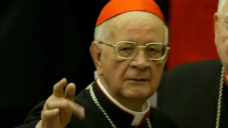 cardeal Martínez Somalo REUTERS Max Rossi Morre aos 94 anos o cardeal espanhol Martínez Somalo
