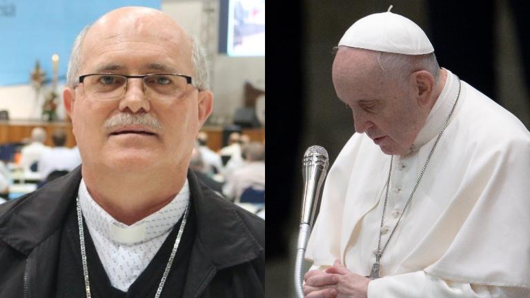 dom odelir magri CNBB papa francisco daniel ibanez CNA Bispo entregará carta do Papa às famílias das vítimas de atentado em SC