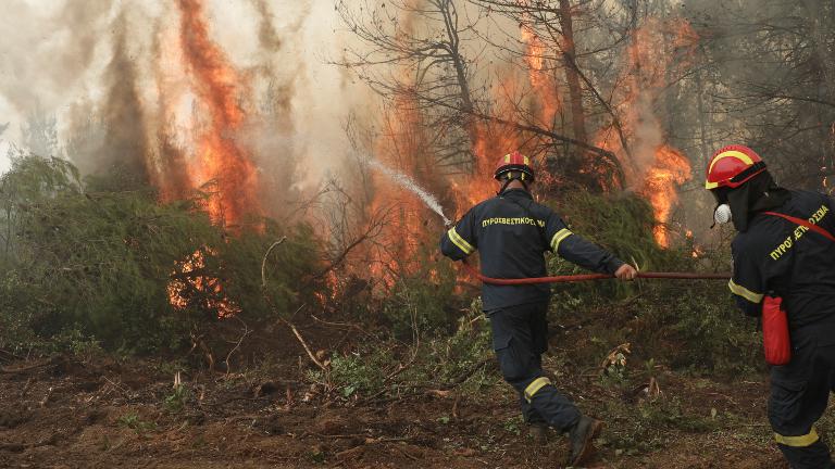grecia Grécia: mais de 2 mil pessoas deixam Evia devido aos incêndios