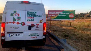 Símbolos da JMJ deixam Angola e seguem a caminho da Polônia