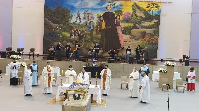 relíquias dom bosco Adailton Batista CN Relíquias de Dom Bosco são veneradas em Campinas (SP)