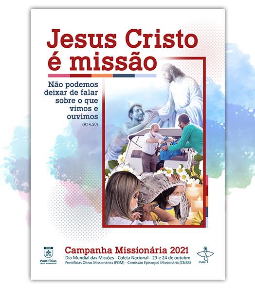 cartaz da campanha missionária 2021