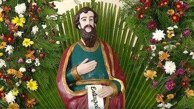 Igreja recorda São Mateus, o santo que cobrava impostos