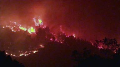 Na Espanha, incêndios florestais se alastram pelo sexto dia