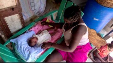 Brasileira arrecada doações de leite para crianças no Haiti