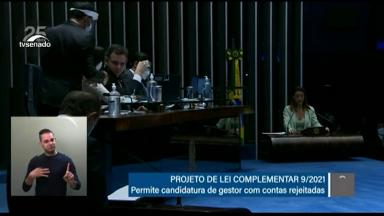 Senado aprova projeto que modifica legislação sobre inelegibilidade