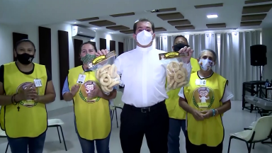 Religioso de Brasília cria projeto que garante renda para desempregados