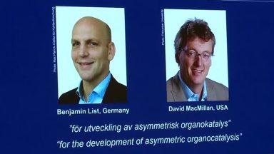 Benjamin List e David MacMillan vencem o Nobel de Química