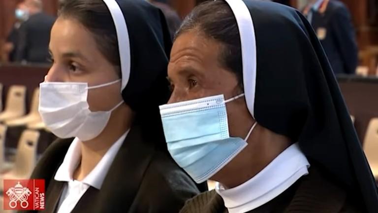 irma Gloria missa abertura sinodo reproducao vatican news Libertação de irmã Glória Argoti é recebida com alegria na Colômbia