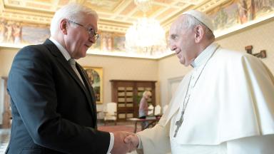 Papa Francisco recebe em audiência o presidente alemão Steinmeier