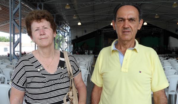 José Espezi e Zoraide Antonio Espezi