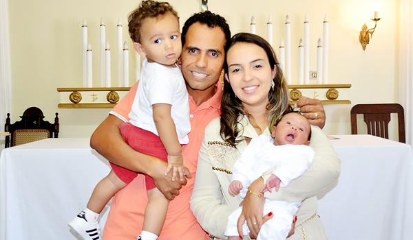 Alessandra e família / Foto: Arquivo pessoal