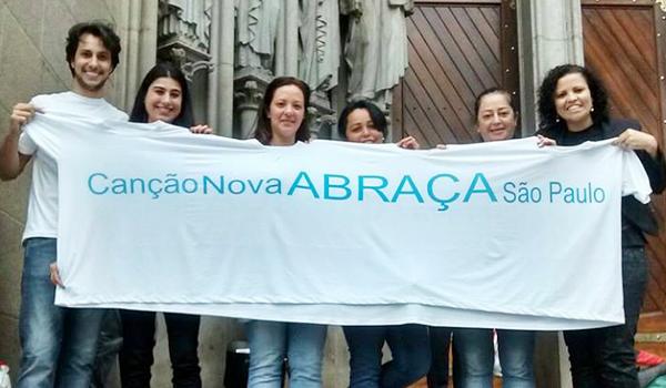 Abrace São Paulo você também!