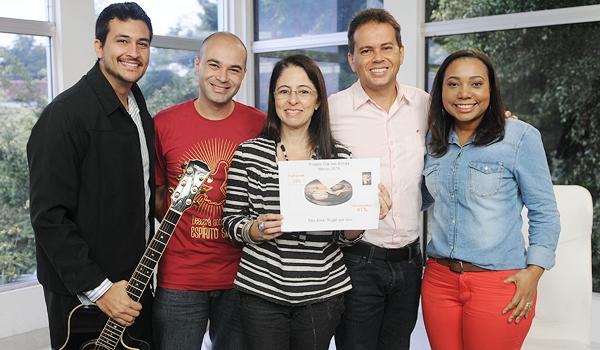 Gratidão à Família Canção Nova!