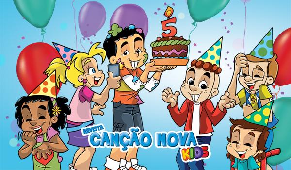 Celebramos 05 anos de evangelização infantil!