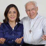 Luzia Santiago e monsenhor Jonas Abib falam à Família Canção Nova