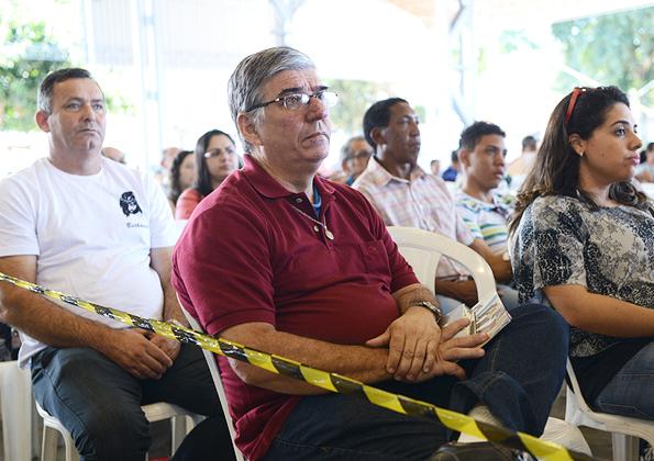 """""""É o Espírito Santo que vai restaurar a sua família"""", afirma padre Vicente Neto. Foto: Daniel Mafra/CançãoNova"""
