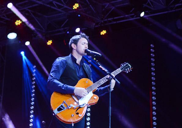 Tony Alysson em noite de lançamento na Canção Nova / crédito da foto: Wesley Almeida