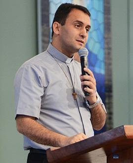 Padre Ivan. Fotos: Daniel Mafra/CançãoNova
