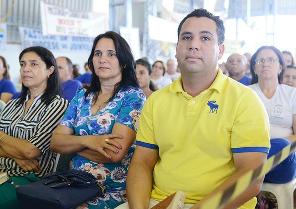 """""""A nossa fé não deve ser baseada só em milagres"""",  afirma padre Reginaldo Manzotti. Fotos: Daniel Mafra/CançãoNova"""