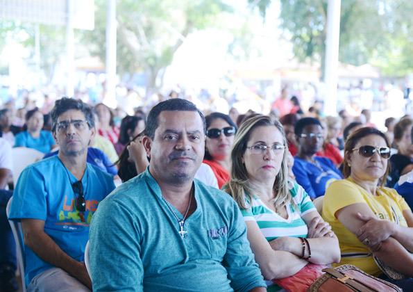 """""""A Pastoral da Sobriedade precisa estar em toda a Igreja"""", afirma Ana. Fotos: Wesley Almeida/ CN"""