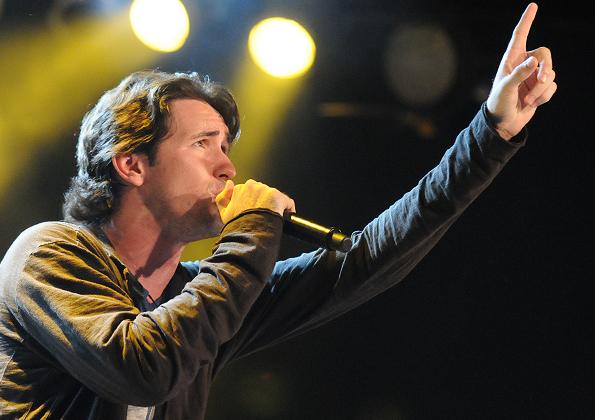 Show do músico Tony Allysson em uma de suas apresentações na CN. Crédito da foto: Arquivo/ cancaonova.com
