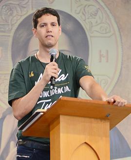 Jimmy Fioramonte. Crédito da foto: Daniel Mafra/cancaonova.com