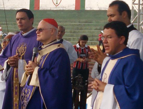 Cardeal Dom Odilo presidiu a Santa Missa de encerramento do III Kairós Abraça São Paulo. Fotos: Paulo Pereira/cancaonova.com