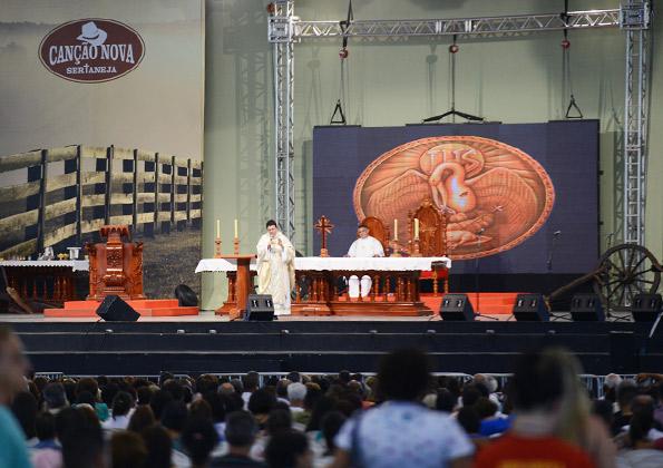 Santa Missa de abertura do Canção Nova Sertaneja - Foto: Wesley Almeida
