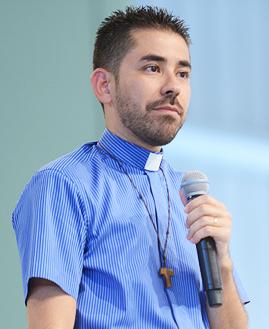 Padre Fabrício Andrade. Foto: Daniel Mafra/cancaonova.com