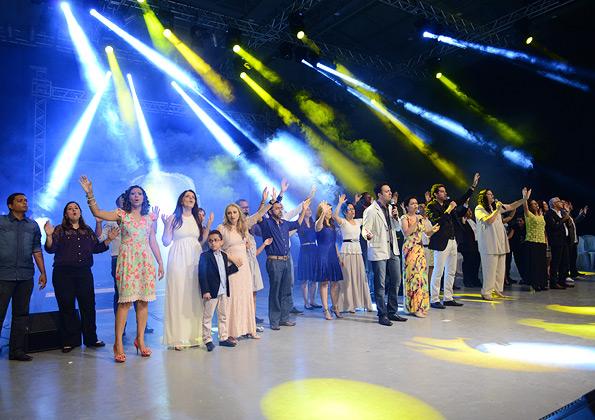 """Show de Lançamento do CD """"Feito tudo para todos"""" - Foto: Daniel Mafra"""