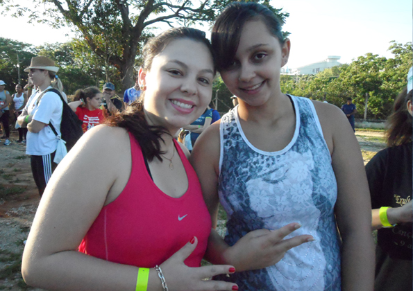 Michelle Magri e Thayane Marsulo